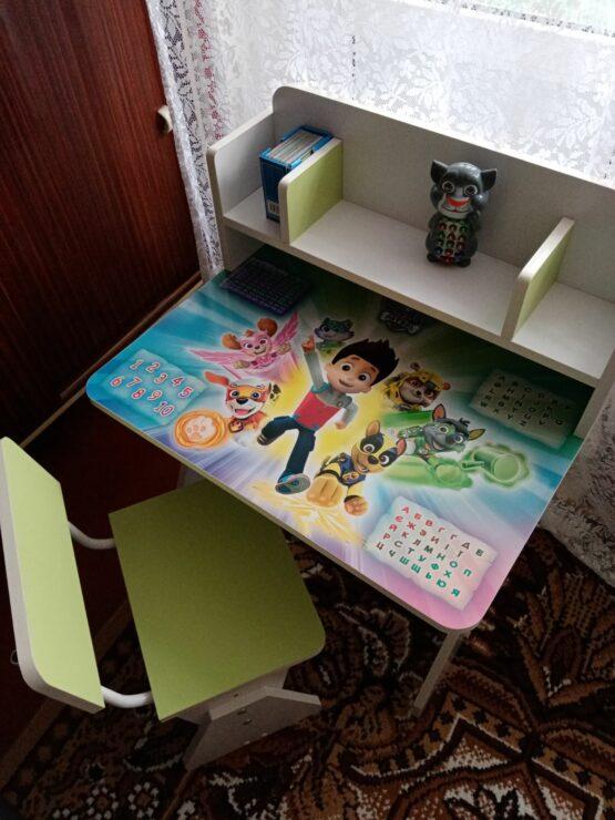 Дитяча парта без підйому стільниці (Україна)